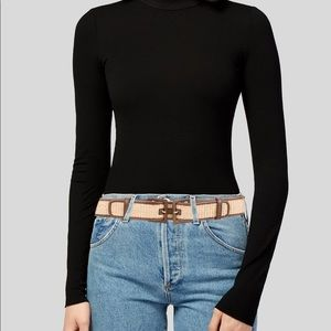 Yves Saint Laurent Accessories - Woven Yves Saint Laurent Belt
